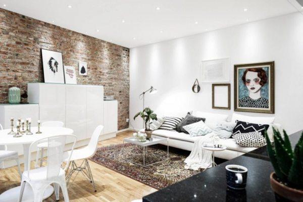 Обираємо альтернативу стінок у вітальні