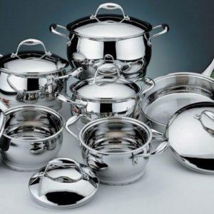 Посуд із нержавіючої сталі: правила вибору та догляду