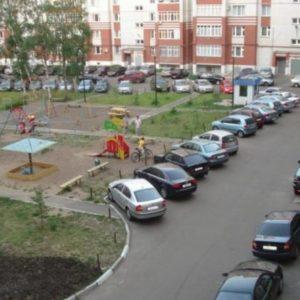 Відстань від автомобільної стоянки до житлового будинку