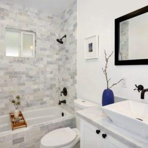 Як оформити плиткою маленьку ванну кімнату