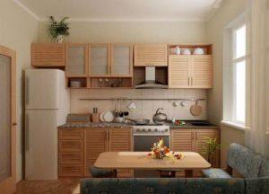 Кухні 9 кв. м. Фото