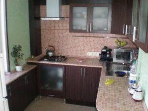 Фото кухні 6 кв. м