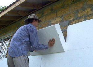 Як кріпити утеплювач до стіни?