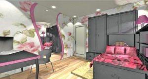 Спальня для дівчини. Дизайн-проект