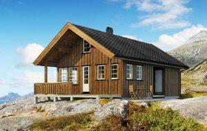 Каркасний будинок з скандинавської технології