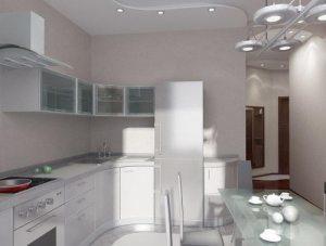 Кухні 10 кв. м. Фото