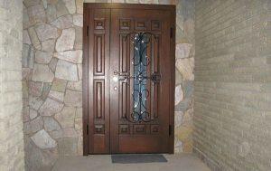 Вхідні металеві двері на замовлення
