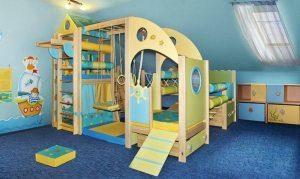 Дитячий спортивний комплекс для будинку