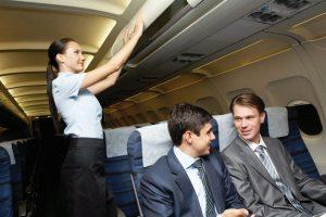 Правила етикету у літаку